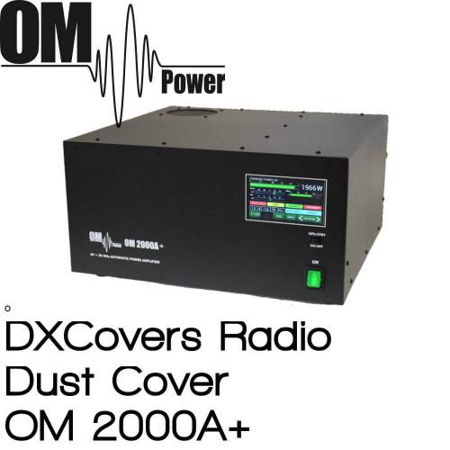 OM Power OM 2000A+ Prism Embroidery Radio Dust Covers shop logo