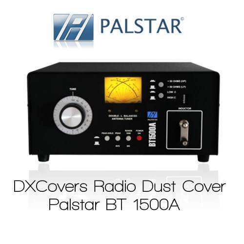 Palstar BT1500A Prism Embroidery Radio Dust Covers shop logo