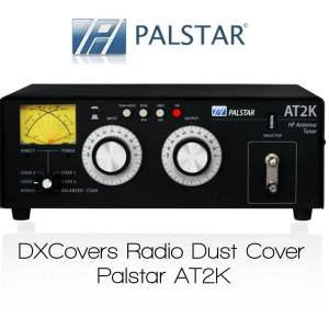 Palstar AT2K Prism Embroidery Radio Dust Covers shop logo