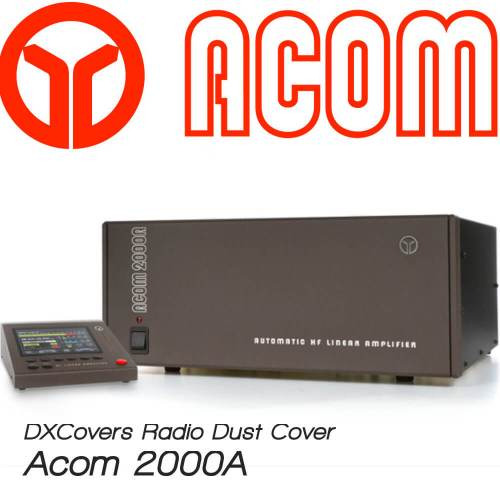 Acom 2000A Prism Embroidery Radio Dust Covers shop logo