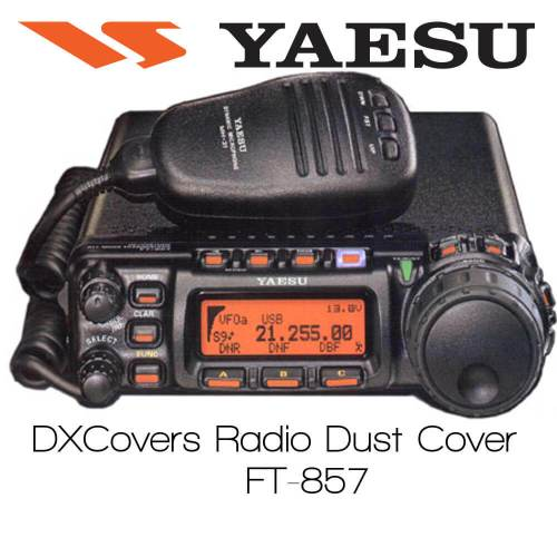 Yaesu FT-857 Prism Embroidery Radio Dust Covers shop logo