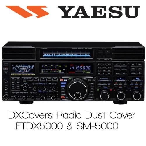 Yaesu FTDX5000 & SM5000 (FULL) Prism Embroidery Radio Dust Covers shop logo