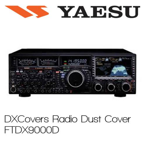 Yaesu FTDX9000D Prism Embroidery Radio Dust Covers shop logo