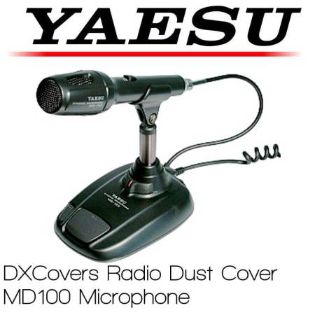 Yaesu Md-100 Shop radio dust cover bty DX Covers