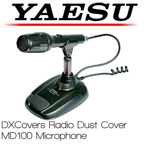 PrismYaesu MD-100 microphone cover Prism Embroidery Radio Dust Covers shop logo