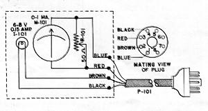 Schematic of SM-57 Signal Meter.