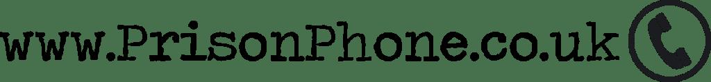 Prison Phone logo Website address