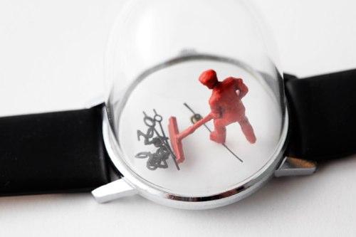 Dominic Wilcox e suas Esculturas em Relógios
