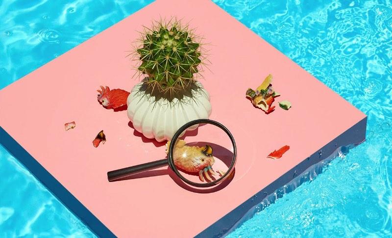 Paloma Rincón é uma fotógrafa espanhola cujo portfólio é repleto de trabalho e clientes internacionais. Residente em Madri, uma cidade que consegue atingir altíssimas temperaturas durante o verão, ela resolveu brincar um pouco com essa extrema condição climática.