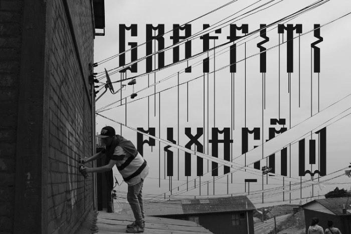 Rooftop: Uma Tipografia Inspirada na Pixação