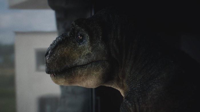 Será que um Audi vai ajudar a curar a depressão que causamos no Tiranossauro Rex?