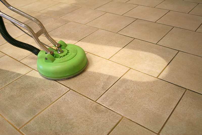 tile grout cleaning services in