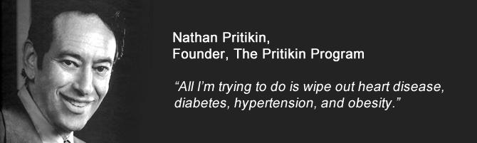 Nathan Pritikin, Founder of the Pritikin Program