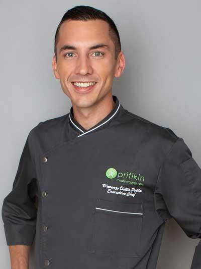 Pritikin Executive Chef Vincenzo Della Polla