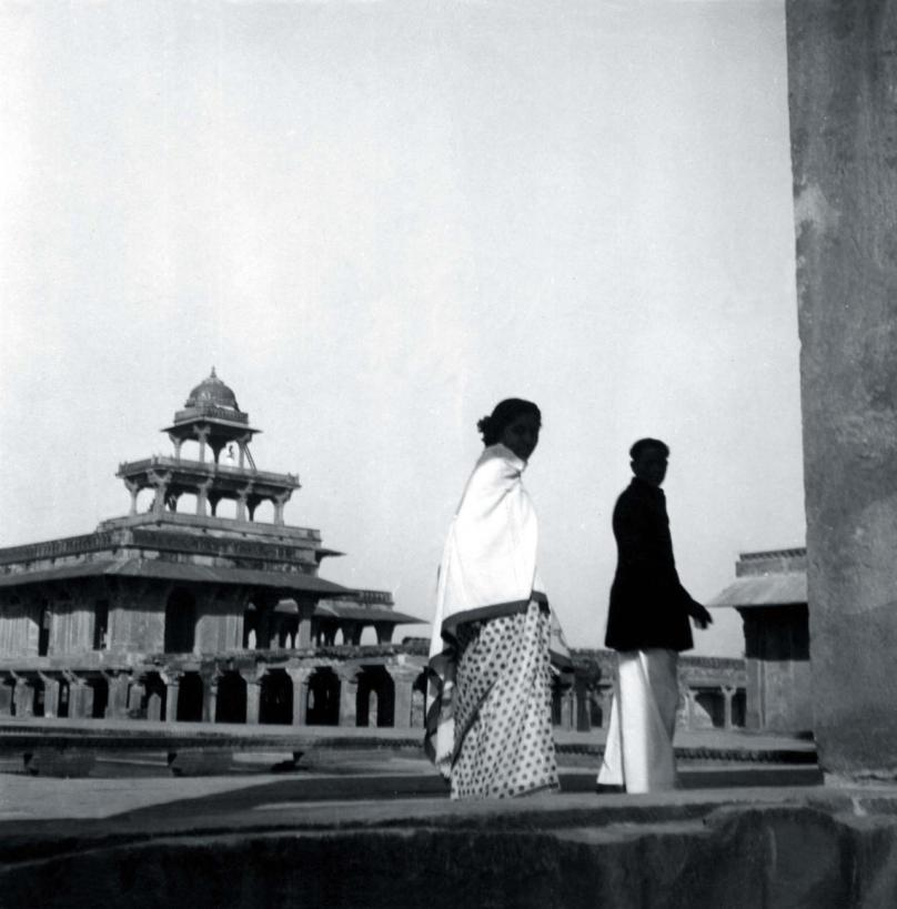 Doshi and Kamala in Fatehpur Siki