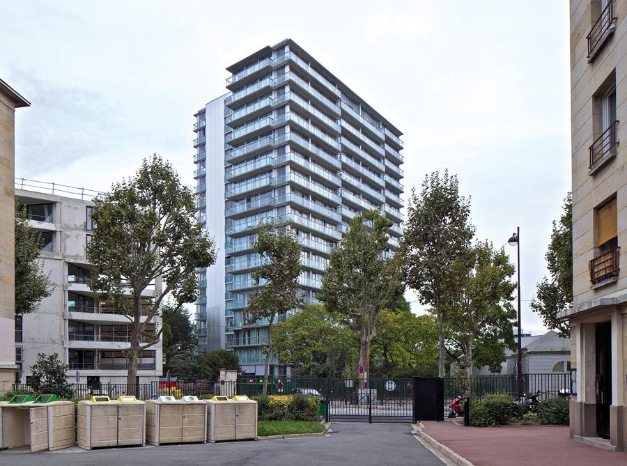 普雷特大楼100套公寓改造,社会住宅 (与弗雷德里克·德鲁沃合作)