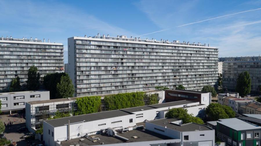 大公园G、H、I 座大楼530套公寓改造,社会住宅(与弗雷德里克·德鲁沃和克里斯托弗·胡廷合作)