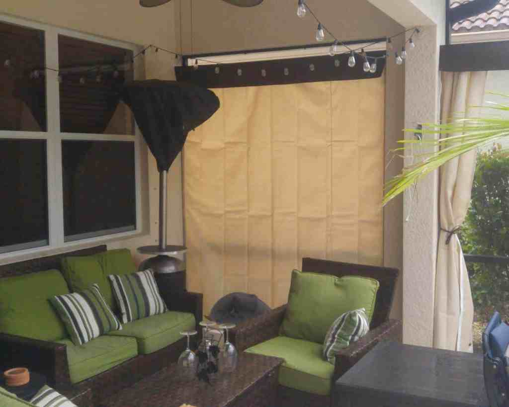 Awesome Home Privacy Outdoors Your Custom Waterproof Outdoor Curtain Home Interior And Landscaping Synyenasavecom