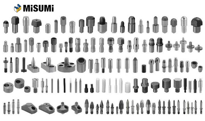 Todos los componentes para moldes de inyección de plástico