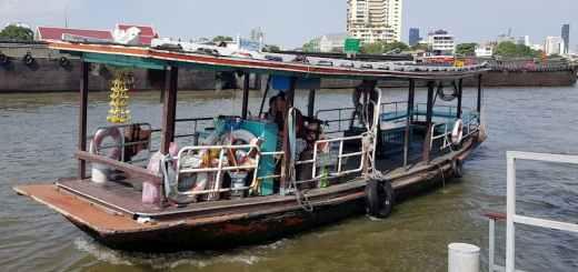 Prywatny transport na rzece Chaophraya, Bangkok