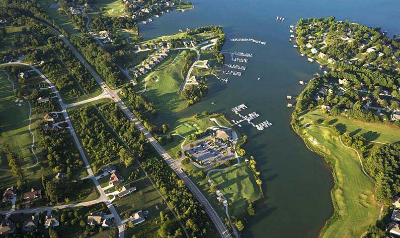 Tellico Village Private Lake And Golf Community Near Knoxville TN
