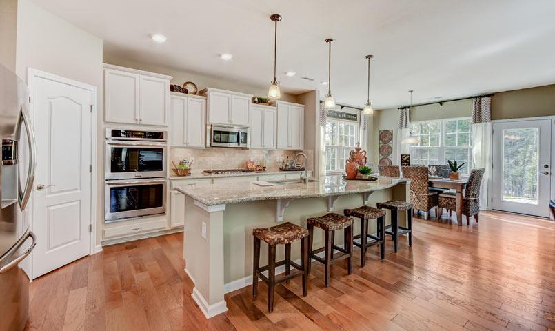 stainless kitchen island faucet bronze tree tops by lennar | 55+ active adult community near ...