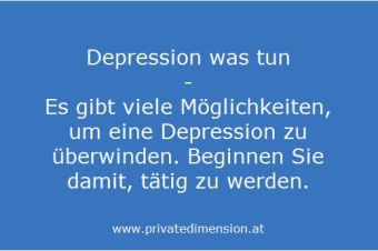 Depression was tun