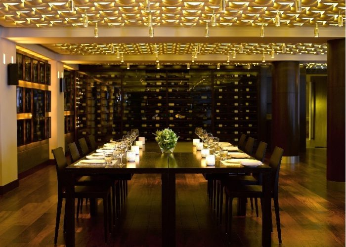 Luxury Private Dining Rooms At Andaz London Liverpool Street