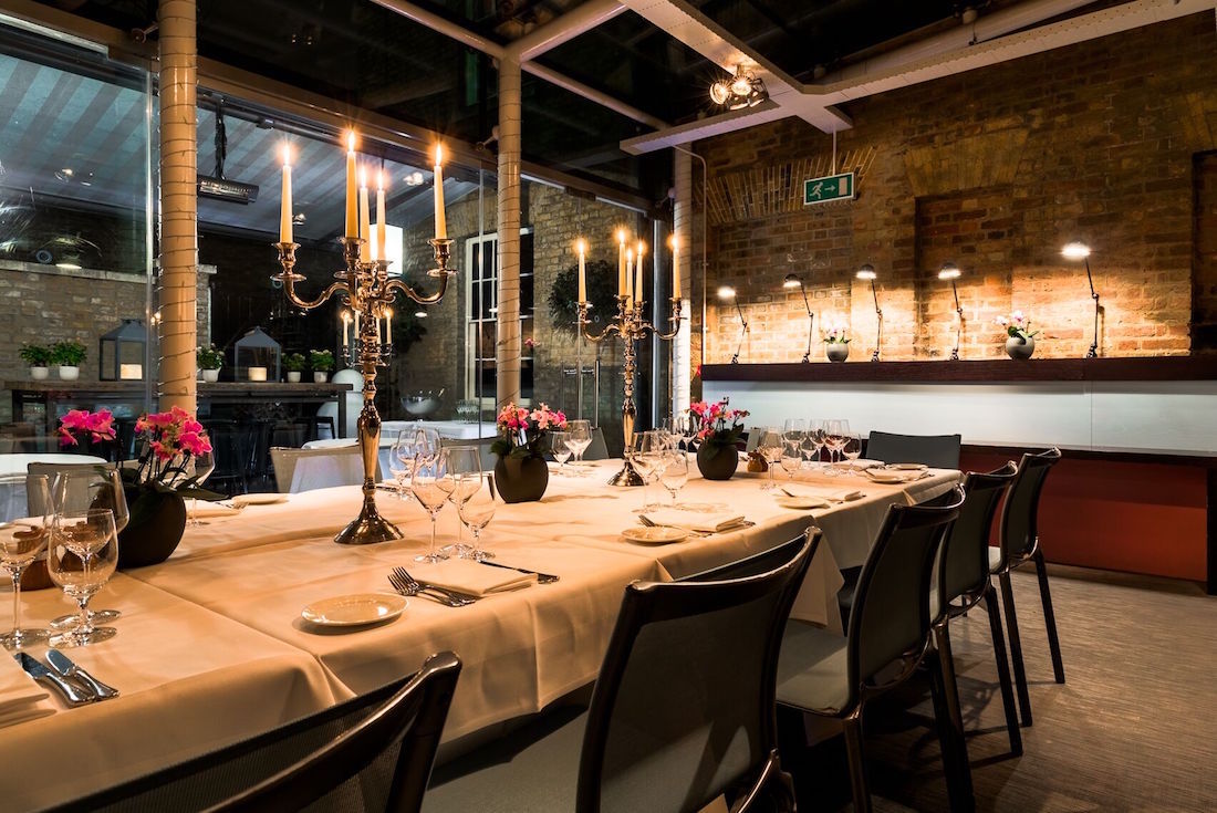 Manicomio Chelsea review  Private Dining Rooms