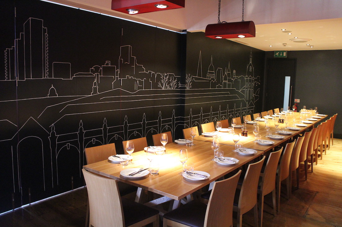 Luxury Private Dining Rooms at SMITHS of Smithfield