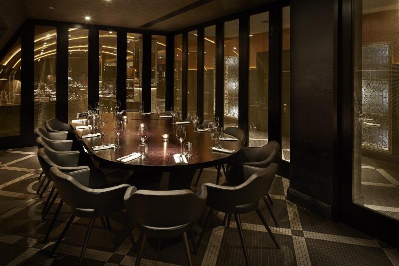 Luxury Private Dining Rooms at Aqua London Regent Street