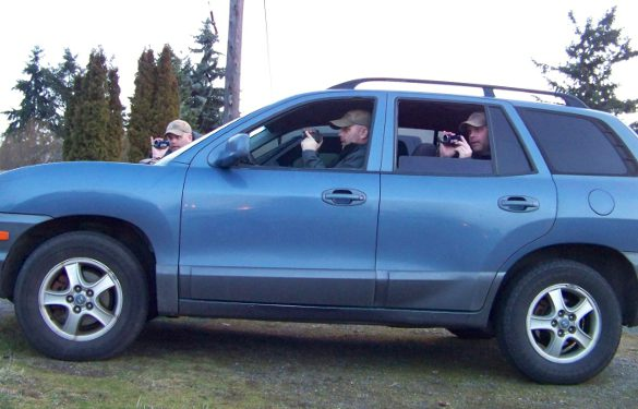 Private Investigator Surveillance Vehicle