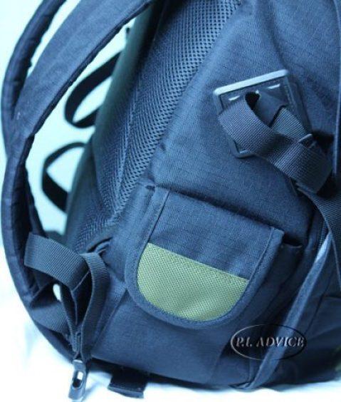 Canon Backpack 200EG side pockets