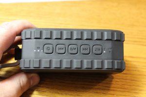 Marsee Zero X Portable Speaker Controls