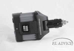 Intertek 100W Car Inverter 1