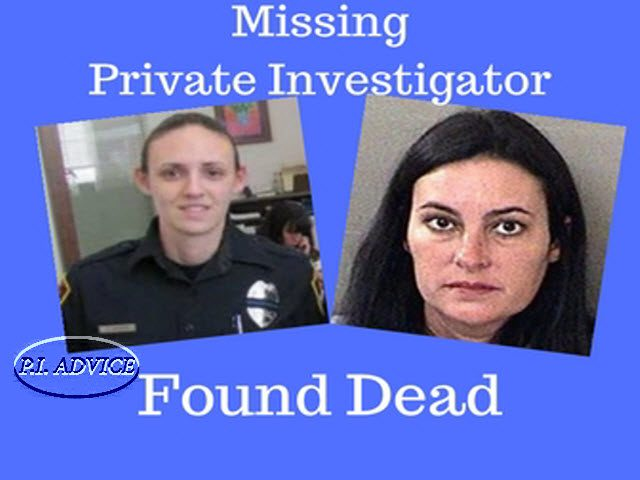 Private Investigator Taylor Wright First Missing Then Found Dead
