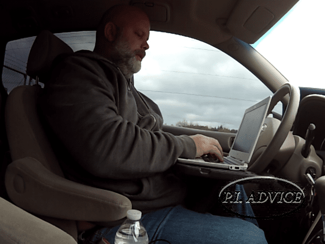 Steering wheel desk perfect size