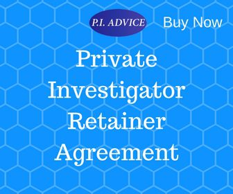 Private Investigator Retainer Agreement (NEW)