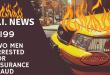 Insurance Fraud Fire