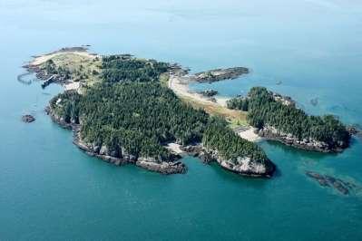 Casco Bay Island - Maine, United States - Private Islands ...