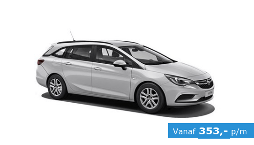 opel astra tourer private lease
