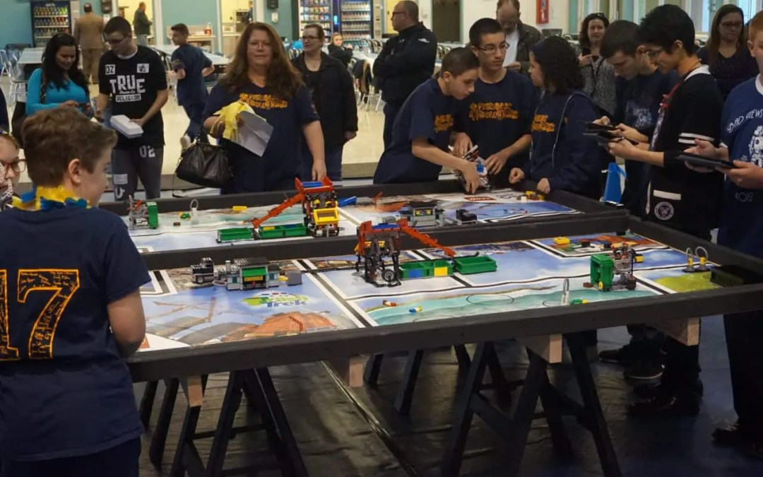 Young Robotics Engineers Compete At Sea