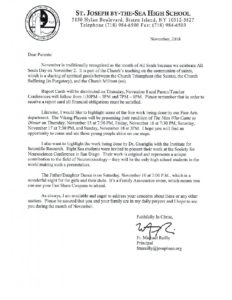 Father Reilly Letter