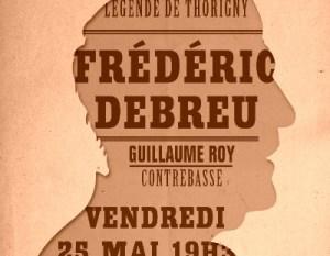 Frederic Debreu handbill