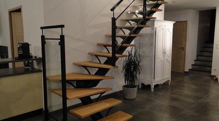 prix d un escalier cout moyen tarif