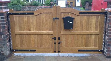 prix d un portail en bois cout moyen