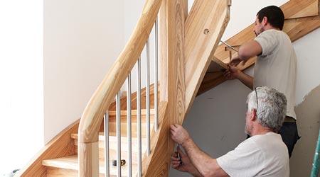 prix d un escalier cout moyen tarif de pose prix pose