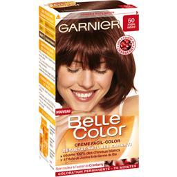 Coloration permanente belle color acajou n50  Tous les produits colorations  Prixing