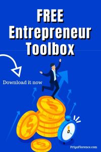 Access your FREE Entrepreneur Toolbox