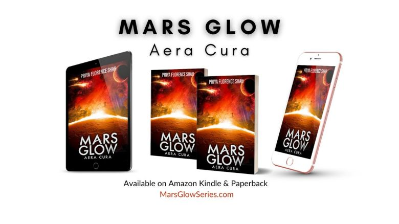 Mars Glow Science Fiction Series